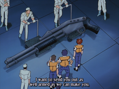 What is This? A Gun for a Mecha?
